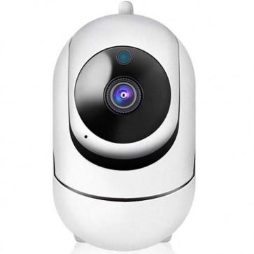 Telecamera videosorveglianza wireless IP da interno, telecamere WIFI Cloud senza fili motorizzate.