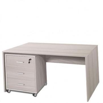 Scrivania ufficio olmo larga 120 cm. Scrivanie in legno porta pc per arredamento camerette