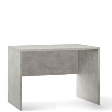 Scrivania ufficio cemento larga 120 cm. Scrivanie Sarmog in legno porta pc per arredamento camerette, dimensioni  76x120x69 cm.