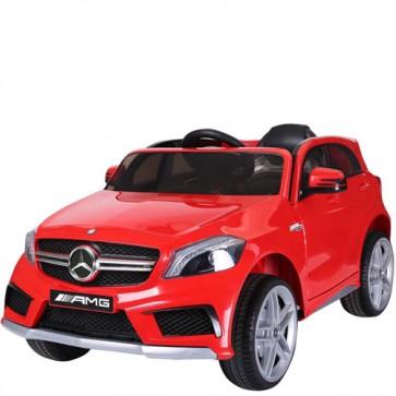 Auto elettriche 12V Mercedes benz GLA per bambini con telecomando. Fuoristrada elettrico SUV 1 posto per bimbo con radiocomando.