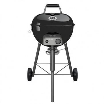 Barbecue a gas Outdoorchef con bruciatore acciaio inox. BBQ Chelsea 480G LH con imbuto girevole Easy Flip, termometro e accensione piezoelettrica.