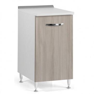 Mobile per cucina componibile con anta 40 cm olmo. Mobili base per cucine componibili, dimensioni 85x40x50 cm.