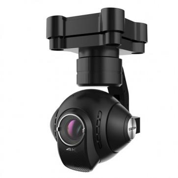 Videocamera CGO3 per drone Typhoon Q500 della Yuneec. Telecamera per droni professionali consente riprese 4K senza vibrazioni e foto a 12 megapixel.