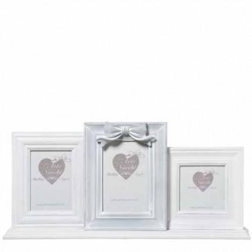 Portafoto triplo, accessorio per la casa ideale per qualsiasi tipo di arredamento. Trittico Portafoto in stile provenzale.
