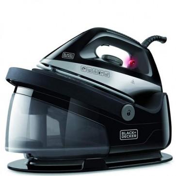 Ferro da stiro a vapore 2200 watt Black Decker BXSS 2200E. Ferri da stiro con caldaia e piastra in ceramica,