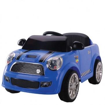 Auto elettrica 12V per bambini Mini Cooper con radiocomando e connessione MP3.