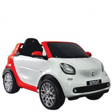 Auto elettriche smart 12 volt per bambini con radiocomando e fari. Macchina elettrica Mercedes per bimbo con telecomando.