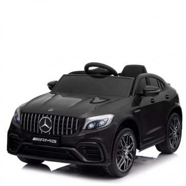 Auto elettrica Mercedes GLC 63S AMG coupè per bambini con telecomando