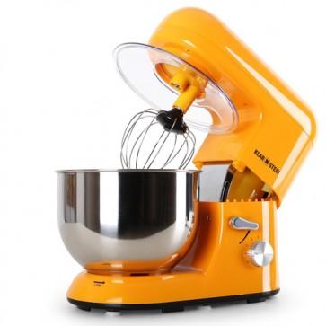 Robot da cucina multifunzione Klarstein 1200w, impastatrice planetaria da banco professionale.