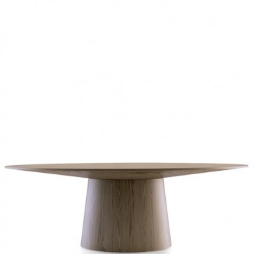 Tavolo da pranzo ovale design moderno, tavoli da salotto Angel Cerdà.