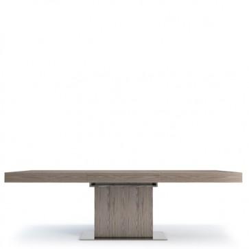 Tavoli da pranzo rettangolari allungabili, tavoli da salotto in noce Angel Cerdà.