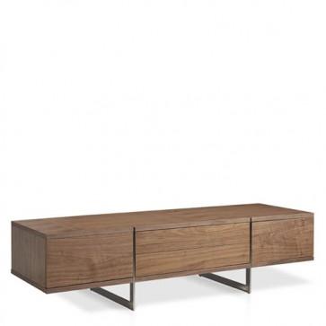 Mobili porta tv Angel Cerdà moderno in legno con cassetti. Mobile credenza moderna, misure 180x56x46 cm.