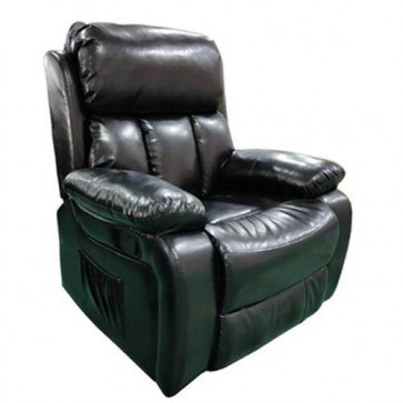 Poltrone relax massaggiante reclinabile in pelle, poltroncina reclinabili massaggianti elettriche con braccioli.