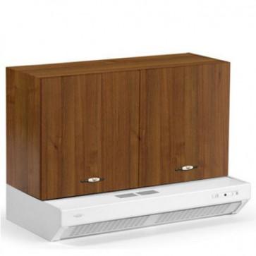 Mobile pensile sopracappa per cucina componibile completo di depuratore. Mobili pensili per cucine componibili con anta noce 90 cm.