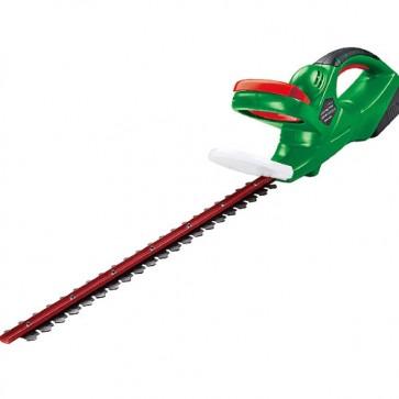 Tagliasiepi a batteria 18V 1.5 AH con lama 46cm e passo lama 14 mm, tagliasiepe ideale per tagliare siepi e rami del tuo giardino.