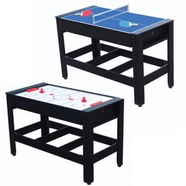 Tavolo ping pong e hockey girevole colibrì, tavoli da ping pong e Hockey ad aria con alimentazione elettrica per interno ed esterno