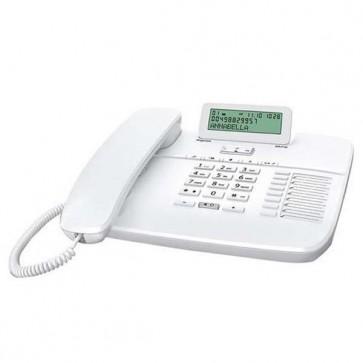 Centralino telefonico,Telefono fisso Gigaset DA710 bianco con display per centralini telefonici