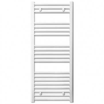 Termoarredo bagno bianco Lazzarini larghezza 50 cm, termoarredi radiatore verticale 1188x550 mm ideale anche come scaldasalviette e portasciugamani.