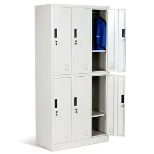 Armadietto metallico ufficio cr 1243j lux armadio for Armadi x ufficio