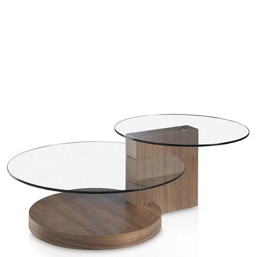 Tavolino salotto Angel Cerdà in legno, tavolini soggiorno con top in ...