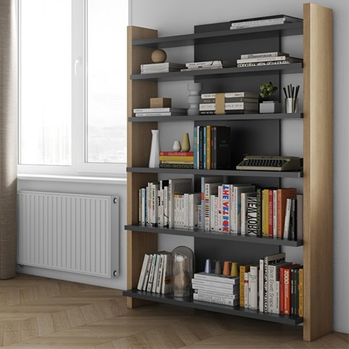 Libreria moderna Temahome per casa e ufficio. Mobile scala libreria ...