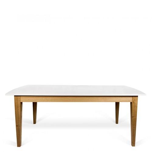 Tavolo allungabile in legno bianco TemaHome.Tavoli allungabili per ...