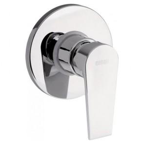 Miscelatore bagno serie Logos in ottone cromato. Miscelatori per doccia a incasso, rubinetti monocomando Mamoli utili per arredare i bagni