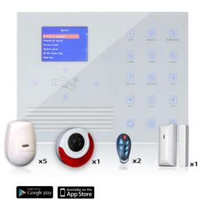 allarme wireless professionale