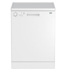 Lavastoviglie Beko 12 coperti libera installazione, lavastoviglia con 5 programmi di lavaggio stoviglie