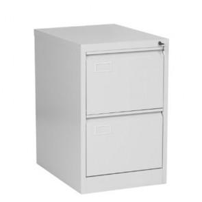 Armadio classificatore per ufficio, armadietti metallici con 2 cassetti.