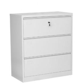 Armadio classificatore per ufficio, armadietti metallici con 3 cassetti.