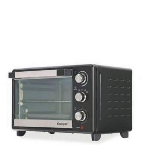 Forno elettrico ventilato Kooper 38 litri 1600w. Fornetto con termostato regolabile, un elettrodomestico indispensabile in cucina