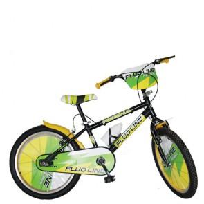 Bici bambino Regina Fluo Line 20 pollici. Biciclette per bambini con borraccia.