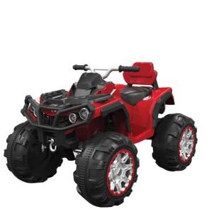 Quad elettrico per bambino 12v, moto quad elettrica per bambini con luci e suoni.