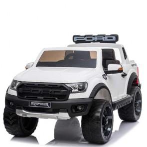 Macchina elettrica per bambini Ford Raptor Ranger 12 Volt a 2 posti con telecomando. Fuoristrada elettrico SUV 12V