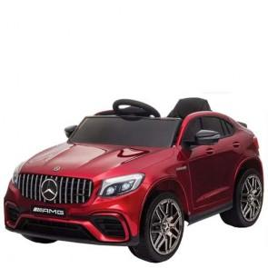 Auto elettrica Mercedes GLC 63S AMG coupè per bambini con telecomando. Macchina Suv elettriche 12V