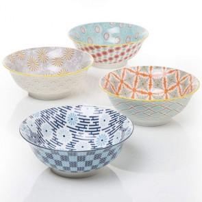 Insalatiera di porcellana Montemaggi 21 cm di diametro, insalatiere colorate utili per la tavola della vostra cucina.