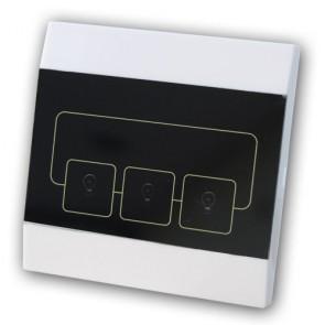 Interruttore wireless per domotica da collegare all'antifurto casa Gifran 868 Mhz GF8000G8 senza filo bidirezionale