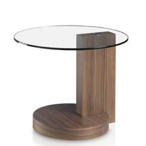 Tavolino salotto ikea in legno con top in vetro temperato.