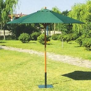 Ombrellone da giardino in legno tondo. Ombrelloni da terrazzo, ideali anche per il balcone e tavolo esterno.