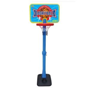 Piantana canestro da Basket per bambini con altezza regolabile, canestri gioco bimbi da basket con palla.