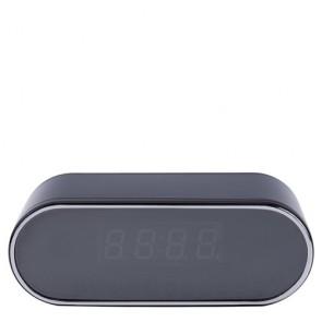 Sveglia con microcamera spia WIFI, orologio spia con telecamera nascosta 720P memoria non inclusa e infrarossi per visione notturna.