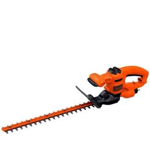 Tagliasiepi elettrico Black Decker BEHT201 420W con lama 45cm e passo lama 16mm, tagliasiepe ideale per tagliare siepi e rami del tuo giardino.