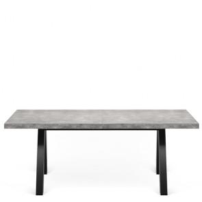 Tavolo rettangolare allungabile, tavoli dal design moderno TemaHome per salone e cucina.
