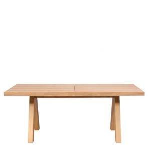 Tavolo rettangolare allungabile, tavoli quercia TemaHome per salone e cucina