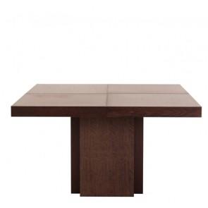 Tavolo da pranzo geometrico con quattro quadrati congiunti, tavoli moderni TemaHome ideali in cucina e soggiorno.