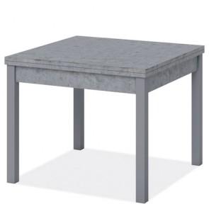 Tavolo da pranzo apribile a libro 180 cm, colore cemento. Tavoli da cucina allungabili con gambe in faggio, arredo interno dimensioni 90x90 cm.