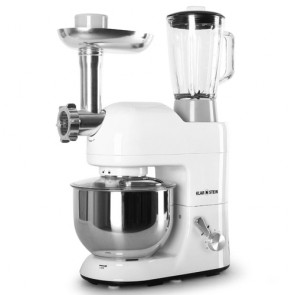 Robot da cucina tritacarne mixer Klarstein 1200w, impastatrice planetaria da banco professionale.